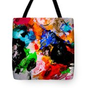 Colorful Expression 13 Tote Bag