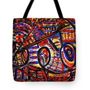 Colorful Expression 18 Tote Bag