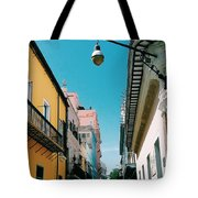 Colorful Facades Tote Bag