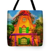 Colorful Fantasy Windmill Tote Bag