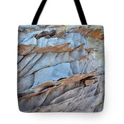 Colorful Fins Of Sandstone In Valley Of Fire Tote Bag