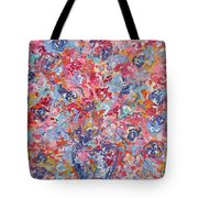 Colorful Floral Bouquet. Tote Bag