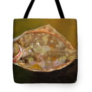 Colorful Flounder Tote Bag