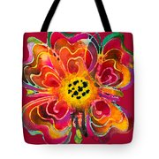 Colorful Flower Art - Summer Love By Sharon Cummings Tote Bag