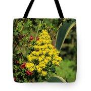 Colorful Flowers Blooming Tote Bag