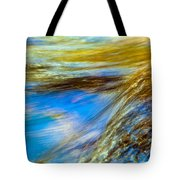 Colorful Flowing Water Tote Bag