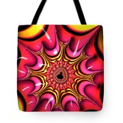 Colorful Fractal Art With Candy-colors Tote Bag
