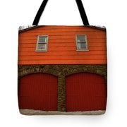 Colorful Garage Tote Bag