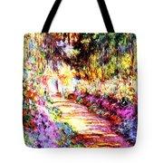 Colorful Garden Tote Bag