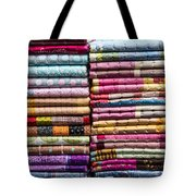 Colorful Garment Tote Bag