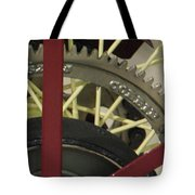Colorful Gears Tote Bag