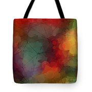 Colorful Geometric Pattern Abstract Art Tote Bag