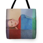 Colorful Girl Tote Bag