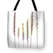 Colorful Grasses  Tote Bag