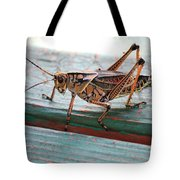 Colorful Grasshopper Tote Bag