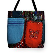 Colorful Hanging Pouches Tote Bag
