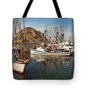Colorful Harbor Tote Bag