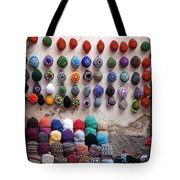 Colorful Hats Tote Bag