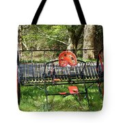 Colorful Hay Rake Tote Bag