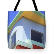 Colorful House In San Francisco Tote Bag