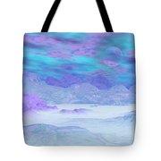 Colorful Icebergs - 3d Render Tote Bag