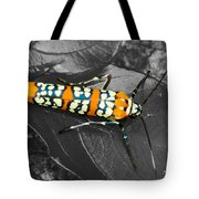 Colorful Insect - Ornate Bella Moth Tote Bag