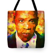 Colorful Jay Z Palette Knife Tote Bag