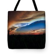 Kansas - Land Of Beautiful Sunsets Tote Bag