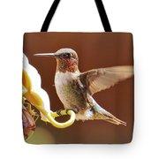 Colorful Landing Tote Bag