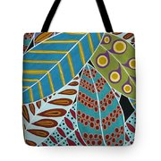 Colorful Leaves Tote Bag