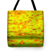 Colorful Leaves On Canal Tote Bag