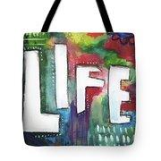 Colorful Life- Art By Linda Woods Tote Bag