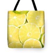 Colorful Limes Tote Bag