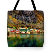 Colorful Lofoten, Norway Tote Bag