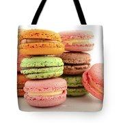 Colorful Macaroons Tote Bag