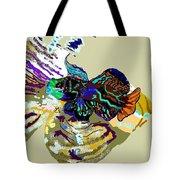 Colorful Manderin Fish Tote Bag