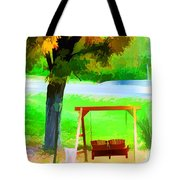 Colorful Maple Tree In The Autumn Tote Bag