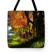 Colorful Maples Tote Bag