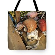 Colorful Marker Buoys Tote Bag
