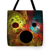 Colorful Masks Tote Bag