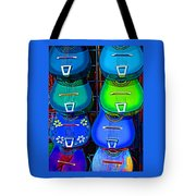 Colorful Mexican Guitars Tote Bag