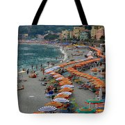 Colorful Monterosso Tote Bag
