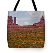 Colorful Monument Valley Tote Bag