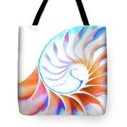 Colorful Nautilus Tote Bag