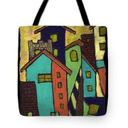 Colorful Neighborhood Tote Bag
