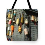 Colorful New England Buoys Tote Bag