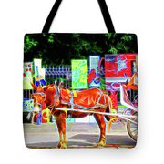 Colorful New Orleans Tote Bag
