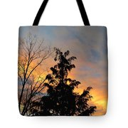 Colorful Nightfall Tote Bag