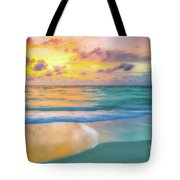 Colorful Ocean Sky Tote Bag