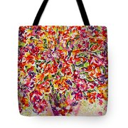 Colorful Organza Tote Bag